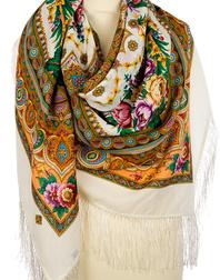 Wool shawl ''Words of Love''