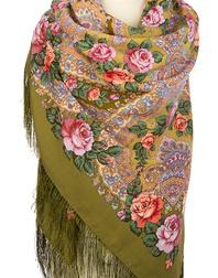 Wool shawl ''Magic Power of Love''