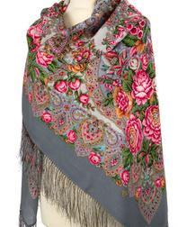 Wool shawl ''Honeynoon''