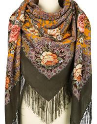 Wool shawl ''Music of the Sea