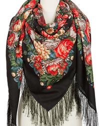 Wool shawl ''Flower Necklace''