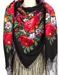 Wool shawl ''Victory Day''