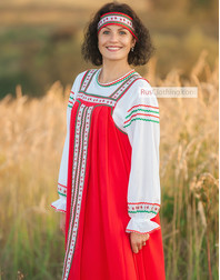 Russian fancy dress
