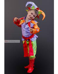 folk costume Petrushka