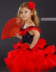Spanish dance costume