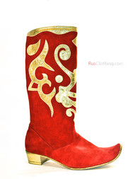 Historic boots Strelets