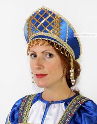 "Russian Kokoshnik ""Pearly"""