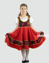 russian folk dancing dress