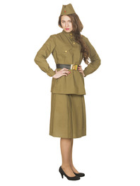 Soviet Union Military Uniform for women