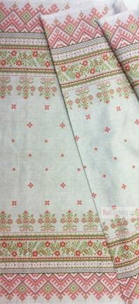 Tissu ethnique au metre ''Folk Ornament''}