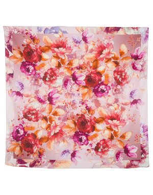 Cotton head scarf ''Flower Energy''