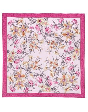 Châle et foulard russe en soie ''Scent of Spring''