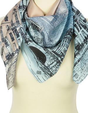 Silk shawl ''Paris''