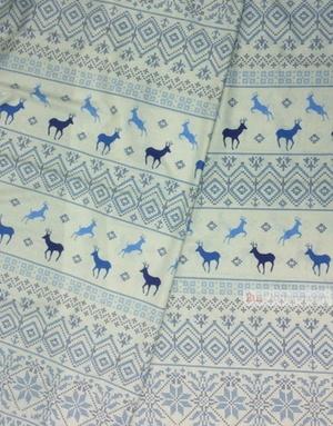 Folk Art Fabric by the yard ''Deer''}