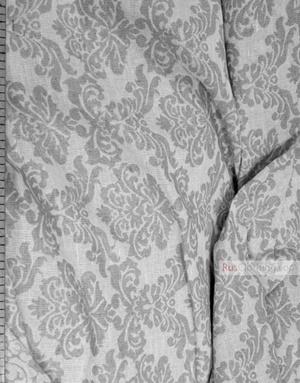 Linen Jacquard Fabric ''Baroque ''