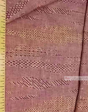 Linen Jacquard Fabric ''patchwork geometry ''