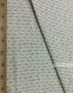 Linen Jacquard Fabric ''Knitted pattern ''
