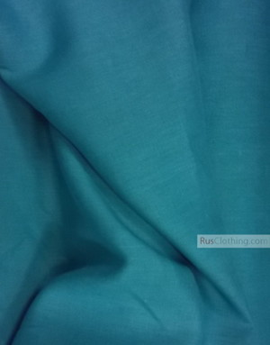 Linen fabric from Russia ''Turquoise ''
