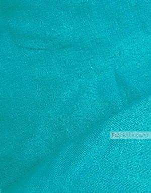 Tissu lin de Russie ''Turquoise''