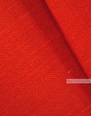 Tissu lin de Russie ''Red''