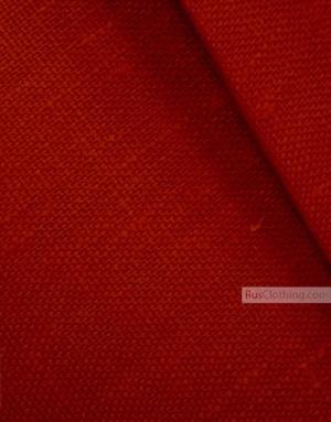 Tissu lin de Russie ''Red Christmas''