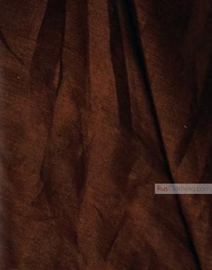 Tissu lin de Russie ''Dark Chocolate''