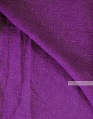 Tissu lin de Russie ''Dark Purple-Purple''
