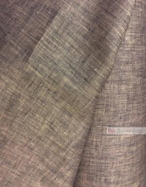 Tissu lin de Russie ''Black And Pink''