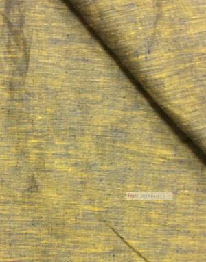 Tissu lin de Russie ''Blue-Yellow''