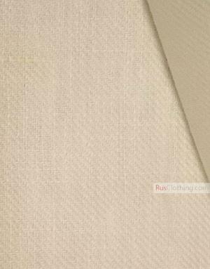 Tissu lin de Russie ''White Twill''