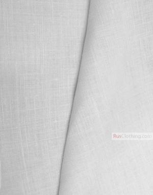 Tissu lin de Russie ''bleached, Cream''
