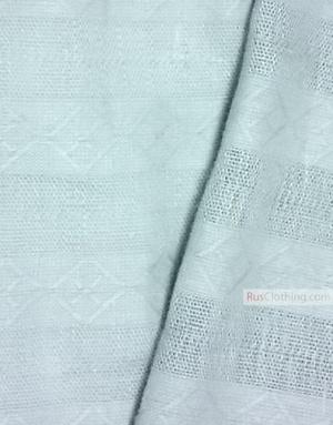 Tissu lin de Russie ''Rhombus and strips''