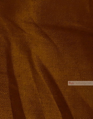 Linen fabric from Russia ''Brown and Bronze ''