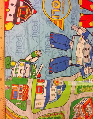 Baby Materials by the Yard ''Robots In The City''}