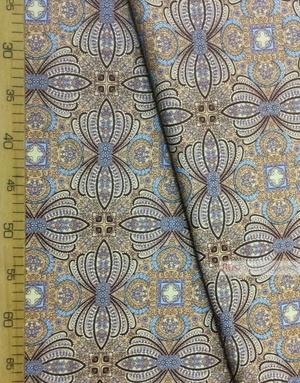 Tissu vintage au metre ''Oriental Patterns''}