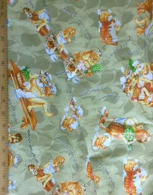 Waffle Fabric by the yard ''Bathhouse!''}