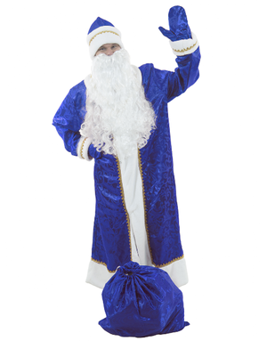 Russian Santa costume Blue