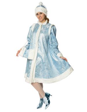 Russian Snegurka Costume Blue