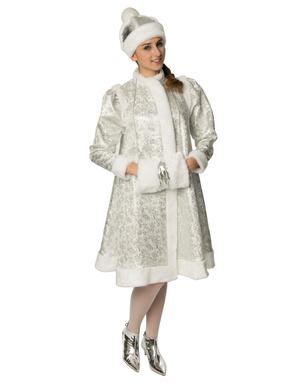 Russian Snegurka Costume Silver