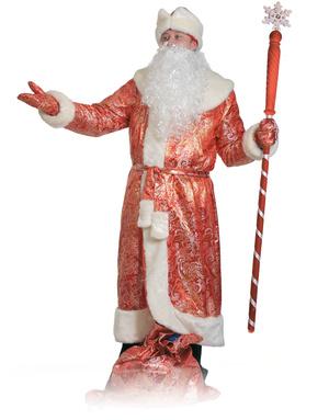Costume russe 'Père Noël en rouge
