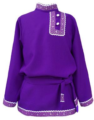 Chemise russe en coton Basil pour les garcons