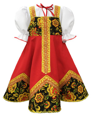 Russian dance costume ''Olenka''