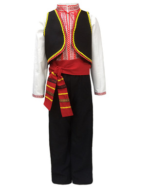 Moldava Romanian costume for men