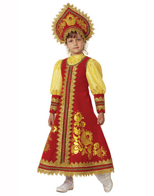 Folk Art Costume ''Sudarushka''