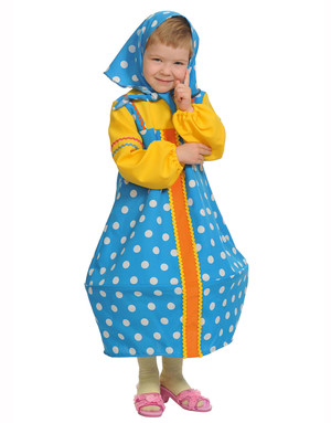 Russian Girl Dress ''Matreshka''