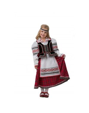 Folklore costume for girls ''Holiday''
