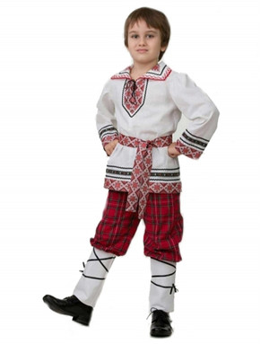 Folklore costume for boys ''Yaroslav''