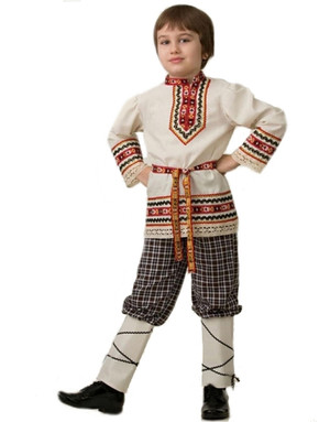 Folklore costume for boys ''Nikita''