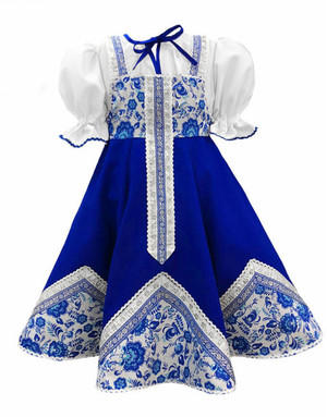 Robe de danse ballet russe ''Olya''