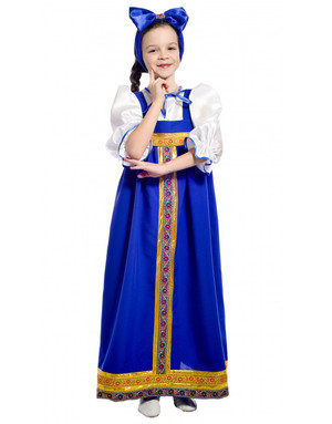 Russian Barynia costume for girls